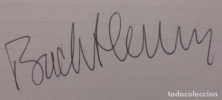 Cine: Autografo en Tarjeta firmada por Buddy Hackett, autografiada, 5 x 3 pulgadas - Foto 4 - 136148714