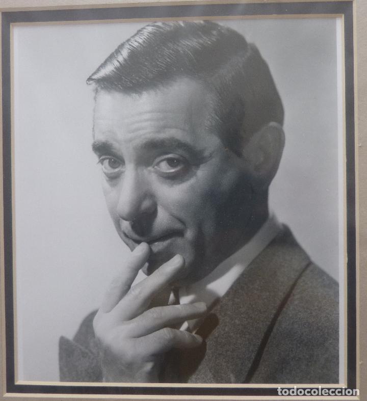 Cine: AUTOGRAFO DE EDDIE CANTOR firma el retrato de la cabeza y los hombros de años 40s del gran actor - Foto 3 - 138581846