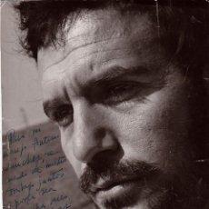 Cine: AUTÓGRAFO DEL ACTOR PACO RABAL SOBRE UNA FOTOGRAFÍA DE 1960. Lote 138629102
