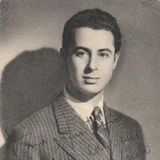 Cine: AUTÓGRAFO DEL ACTOR RICARDO ACERO SOBRE UNA POSTAL-FOTOGRAFICA EN TORNO A 1950. Lote 138630390