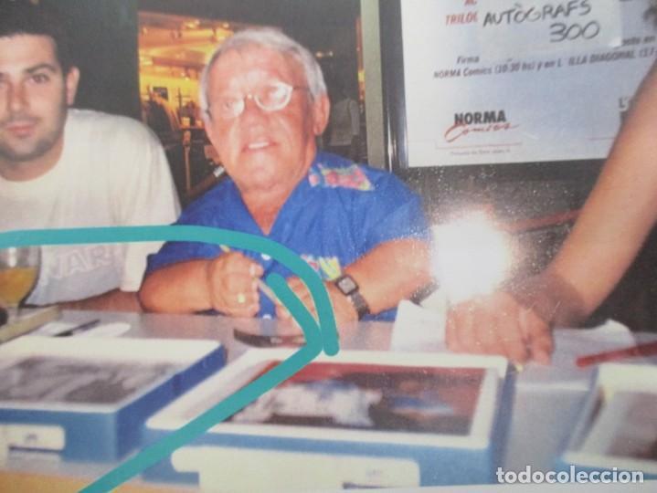 Cine: FOTOGRAFIA R2 D2 - KENNY BAKER CON AUTOGRAFO - STAR WARS - GUERRA DE LAS GALAXIAS- CERTIFICACION - Foto 7 - 141101006