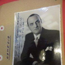 Cine: LALO FOUILLER. ACTOR. FOTO FIRMADA Y DEDICADA. AÑOS 1930S. Lote 145968738
