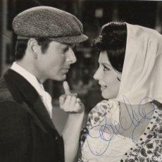 Kino - Vicente Parra y Concha Velasco autografo en foto original film - 146435161