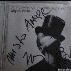 Kino - Miguel Bose autografo en CD - 146919530