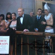 Kino - Fernando Fernan Gomez Mari Carmen Ramirez Autografos cartelera Corte Faraon 30x35 - 147023281