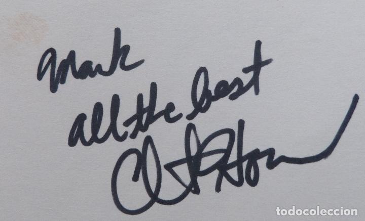 Cine: Autografo de Clint Howard en una tarjeta (Actor) - Foto 3 - 147586226