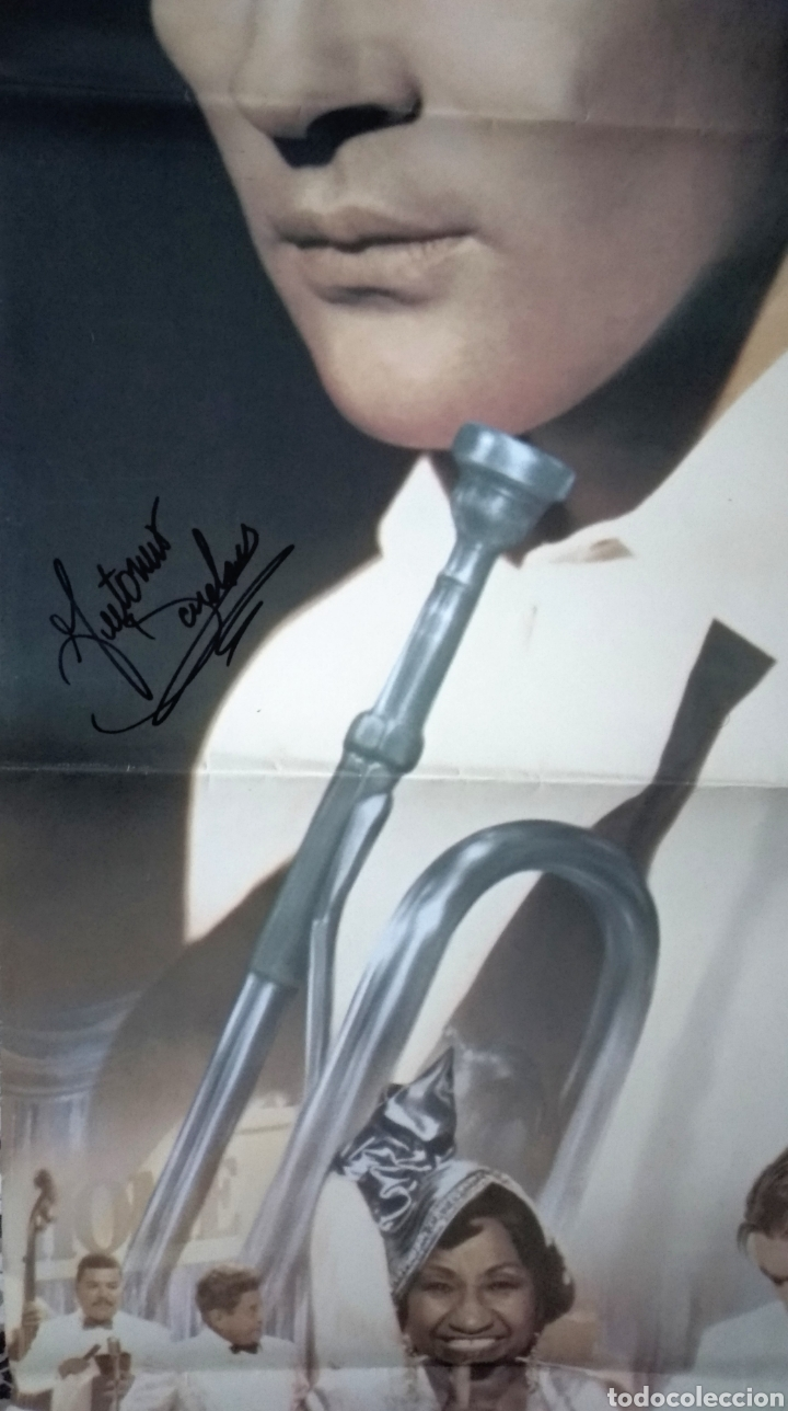 Cine: Celia Cruz y Antonio Banderas autografos en poster original 70x100 - Foto 3 - 147711228