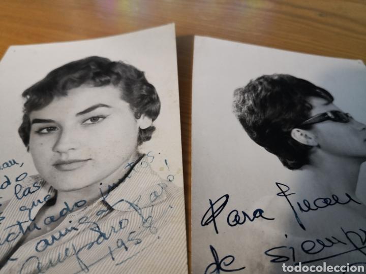 Cine: 2 fotografías dedicadas de amparo baro y tre programas de su compañia - Foto 5 - 149950926