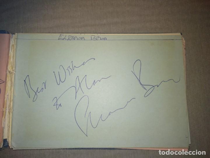 Cine: Libro Autografos Años 60 actores y cantantes - Foto 5 - 151962086