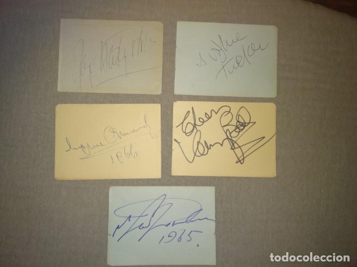 Cine: Libro Autografos Años 60 actores y cantantes - Foto 39 - 151962086