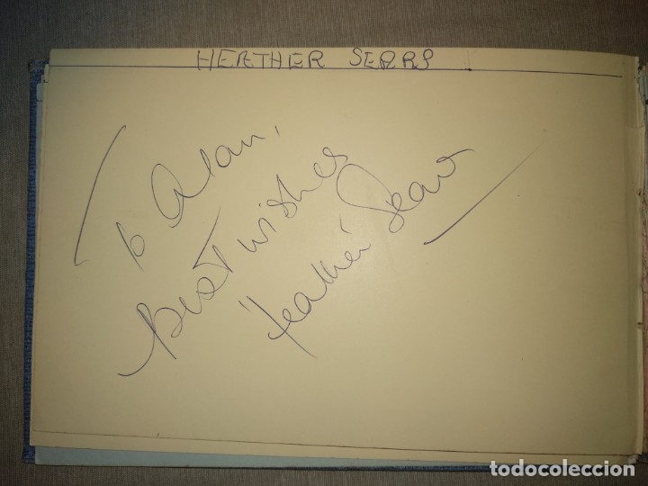 Cine: Libro Autografos Años 60 actores y cantantes - Foto 21 - 151962086