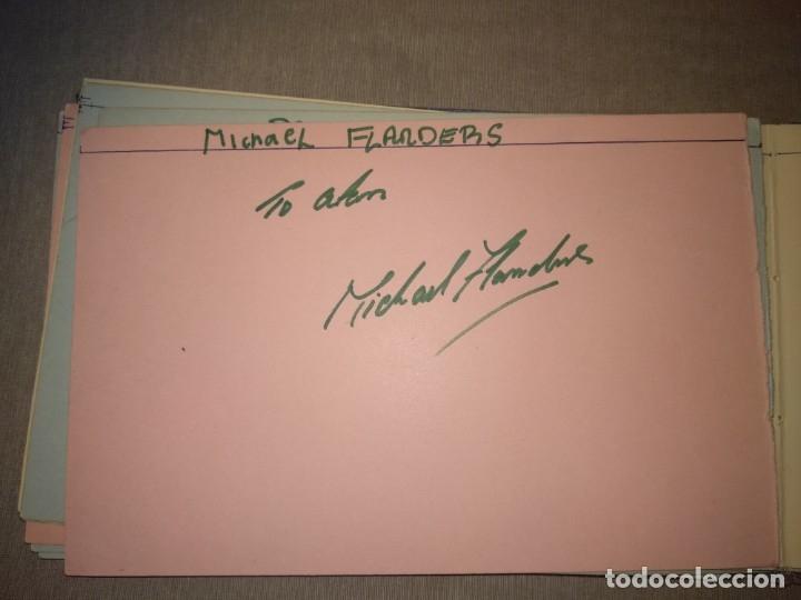 Cine: Libro Autografos Años 60 actores y cantantes - Foto 22 - 151962086