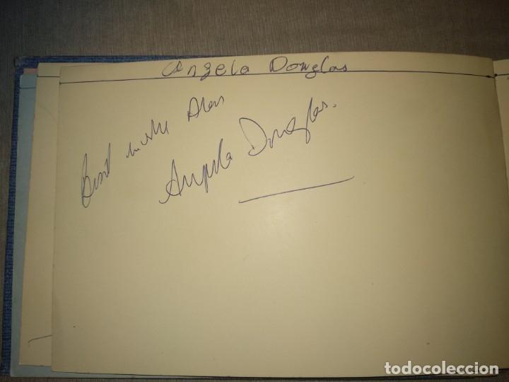 Cine: Libro Autografos Años 60 actores y cantantes - Foto 25 - 151962086