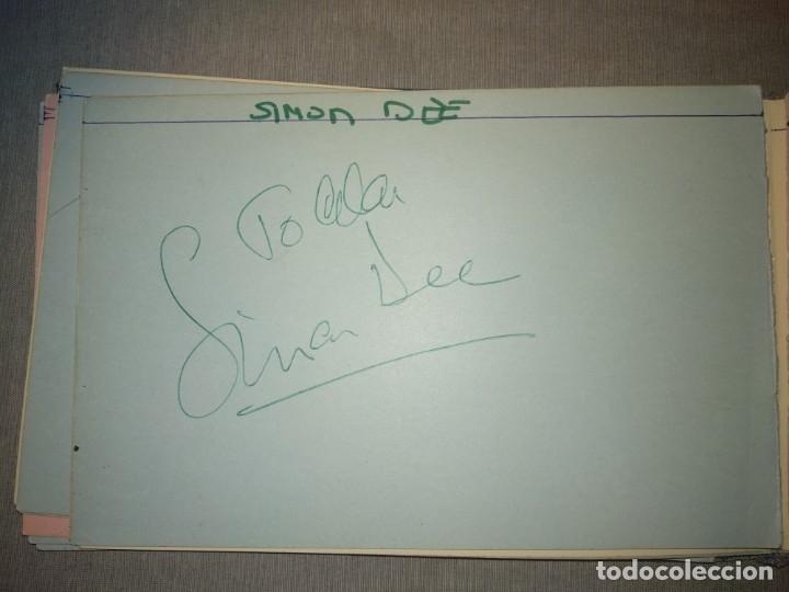 Cine: Libro Autografos Años 60 actores y cantantes - Foto 26 - 151962086