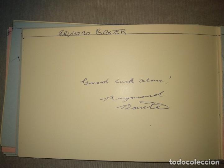 Cine: Libro Autografos Años 60 actores y cantantes - Foto 30 - 151962086