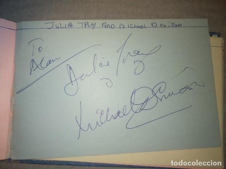 Cine: Libro Autografos Años 60 actores y cantantes - Foto 36 - 151962086