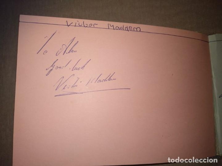Cine: Libro Autografos Años 60 actores y cantantes - Foto 34 - 151962086