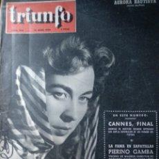 Cine - Aurora Bautista autógrafo en portada revista - 153689368