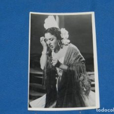 Cine: (M) LOLA FLORES - FOTOGRAFIA AUTOGRAFIADA ORIGINAL - , 18 X 11'5 CM, SEÑALES DE USO. Lote 162171706