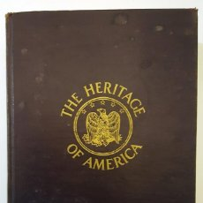 Cine: BOOK HERITAGE OF AMERICA, BOOKPLATE OF NICHOLAS RAY. HERITAGE OF AMERICA EX-LIBRIS DE NICHOLAS RAY.. Lote 165191110
