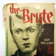 Cine: BOOK THE BRUTE SIGNED BY NICHOLAS RAY. LIBRO THE BRUTE FIRMADO POR NICHOLAS RAY.. Lote 165350794