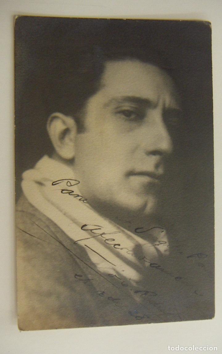 FOTOGRAFIA CON AUTOGRAFO DE ACTOR A IDENTIFICAR 1928 (Cine - Autógrafos)