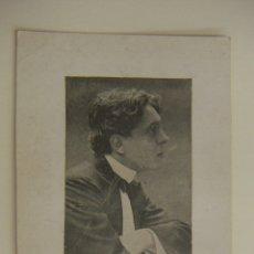 Cine: FOTOGRAFIA CON AUTOGRAFO DEL ACTOR PEDRO CODINA 1927. Lote 166813194