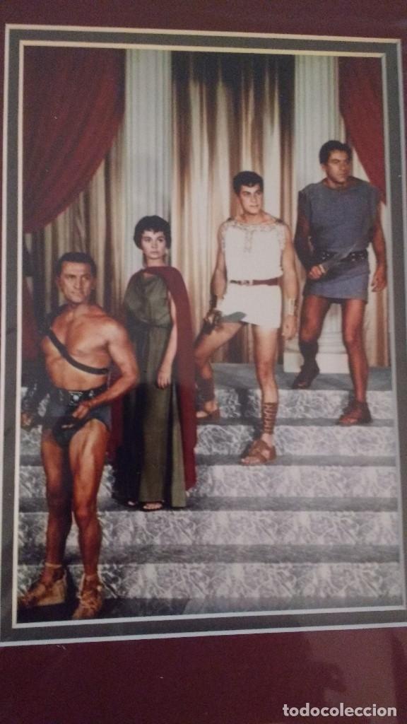 Cine: AUTOGRAFOS ORIGINALES DE LOS ACTORES JOHN IRELAND, TONY CURTIS, JEAN SIMMONS Y KIRK DOUGLAS - Foto 2 - 167821996