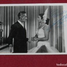 Cine: M) LOLA FLORES - FOTOGRAFIA CON DEDICATORIA A BOLIGRAFO ORIGINAL, SECUENCIA DE UNA PELICULA . Lote 171476285