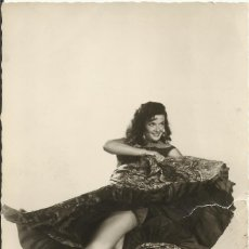 Cinema: JANE RUSSELL. AUTÓGRAFO, FIRMA ORIGINAL. POSTAL FOTOGRÁFICA. LOS CABALLEROS LAS PREFIEREN RUBIAS.. Lote 176447535