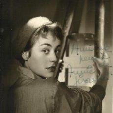 Cine: ANNIE GIRARDOT. AUTÓGRAFO, FIRMA ORIGINAL. FOTOGRAFÍA DEDICADA. BUEN ESTADO. 14,5X10,5 CM.. Lote 176452365