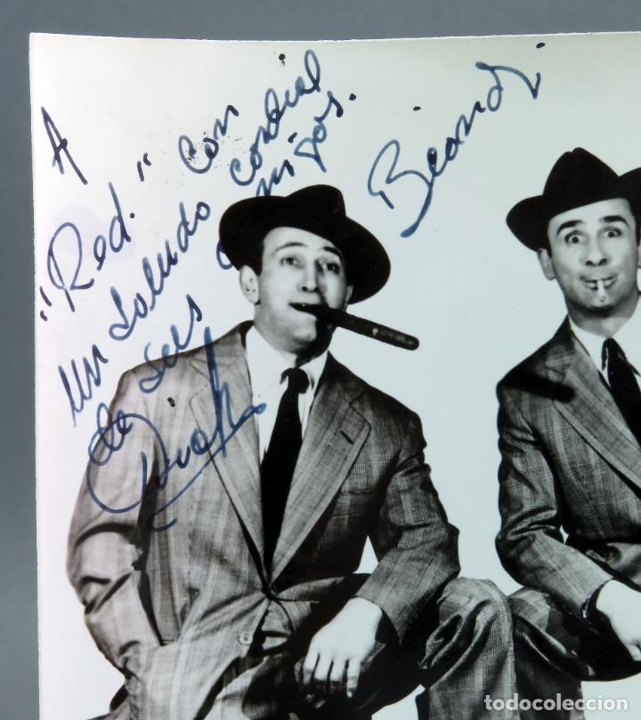 Cine: Foto original con autógrafos actores Dick y Beand años 50 - Foto 2 - 178664426