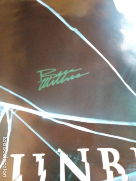 Cine: Cartel Poster Unbreakable ( El Protegido ) USA. Firmado por todo el reparto.Bruce Willis signed. - Foto 2 - 179142396