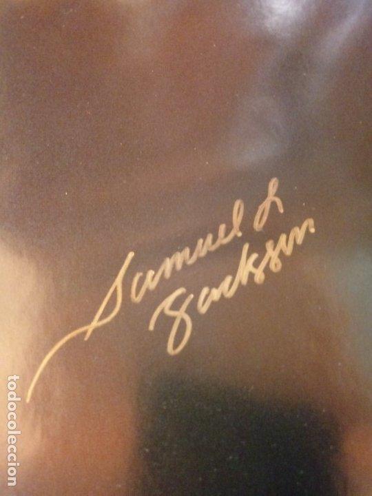 Cine: Cartel Poster Unbreakable ( El Protegido ) USA. Firmado por todo el reparto.Bruce Willis signed. - Foto 3 - 179142396