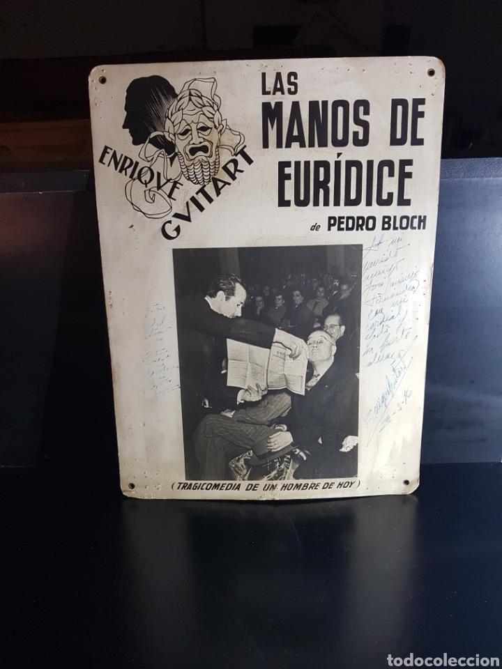 Cine: Anuncio de obra de teatro dedicada y firmada Por Enrique Guitart (actor) - Foto 2 - 180232510