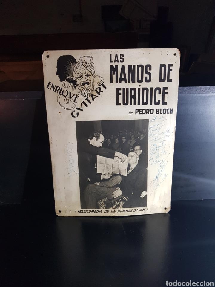 Cine: Anuncio de obra de teatro dedicada y firmada Por Enrique Guitart (actor) - Foto 5 - 180232510