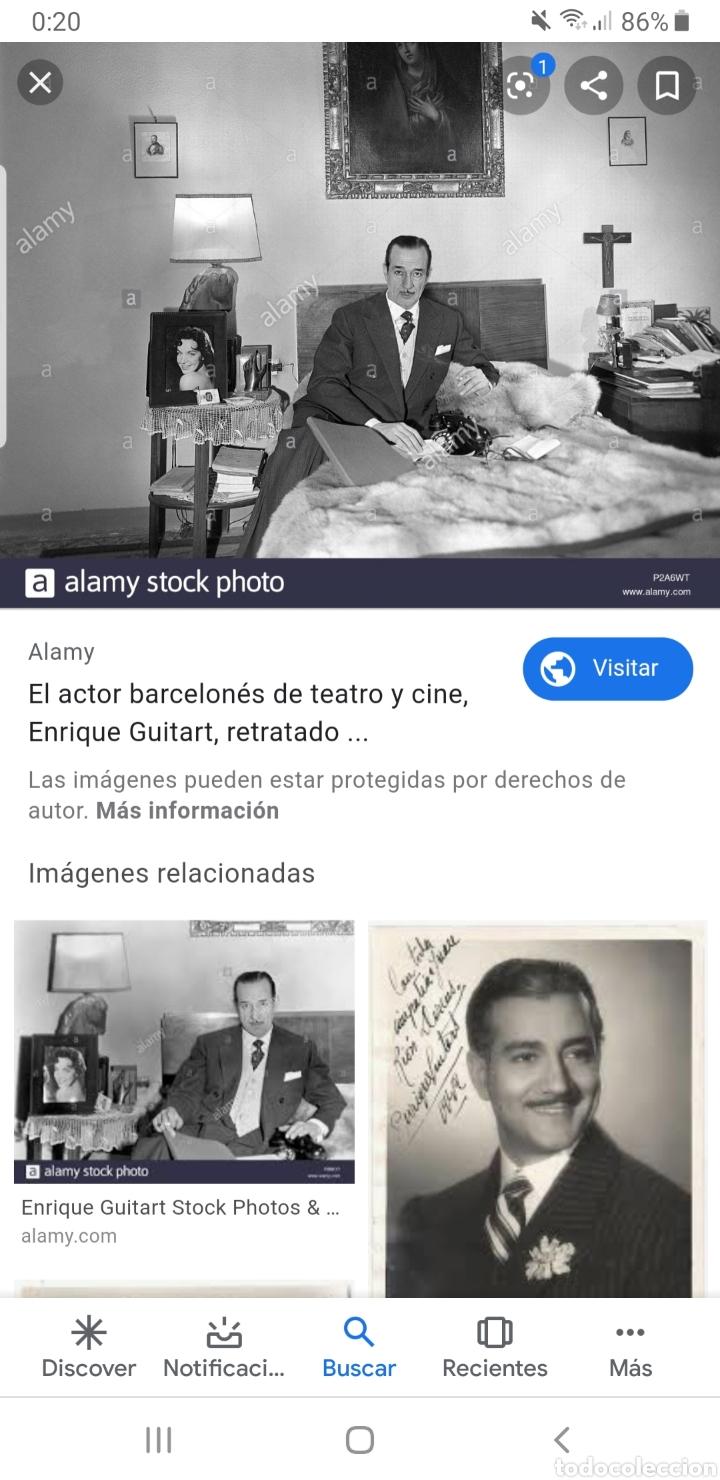 Cine: Anuncio de obra de teatro dedicada y firmada Por Enrique Guitart (actor) - Foto 8 - 180232510