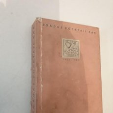 Cine: BOADAS COCKTAIL BAR -CON AUTOGRAFO DE SOFIA LOREN EN SU COCKTAIL. Lote 189414128