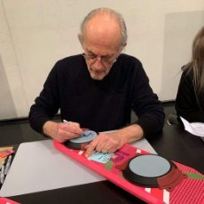 Cine: REGRESO AL FUTURO - CHRISTOPHER LLOYD (DOC BROWN) TABLA FIRMADO HOVERBOARD 1: 1 MODELL + CERTIFICADO. Lote 205861293