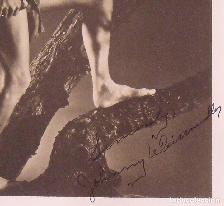 Cine: Álbum autógrafos estrellas Hollywood años 40. Johnny Weissmüller, Glen Ford, Bing Crosby, etc. - Foto 2 - 189938211