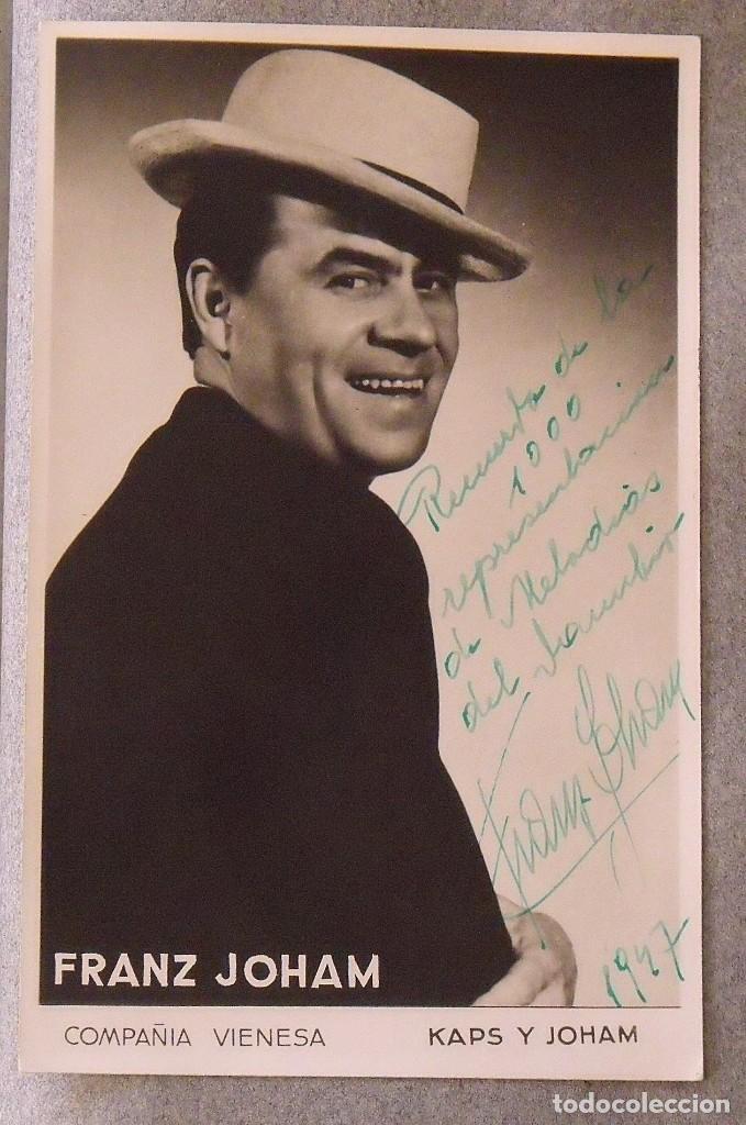 Cine: Álbum autógrafos estrellas Hollywood años 40. Johnny Weissmüller, Glen Ford, Bing Crosby, etc. - Foto 26 - 189938211