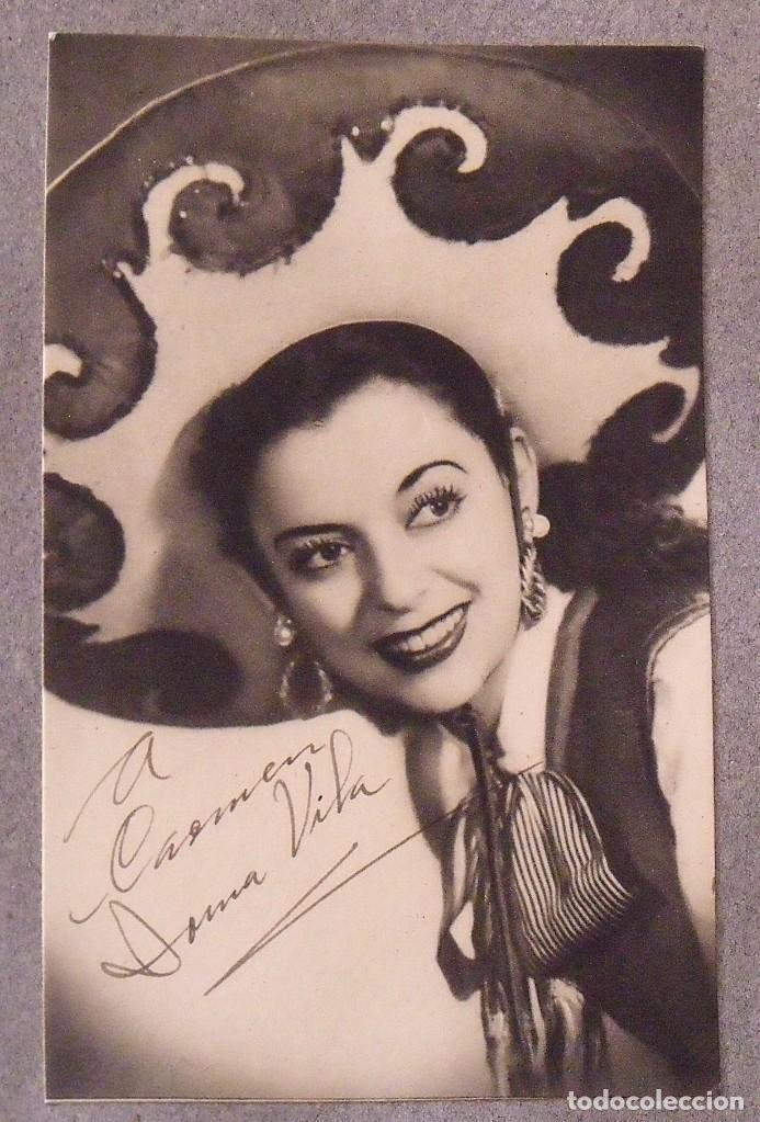Cine: Álbum autógrafos estrellas Hollywood años 40. Johnny Weissmüller, Glen Ford, Bing Crosby, etc. - Foto 27 - 189938211