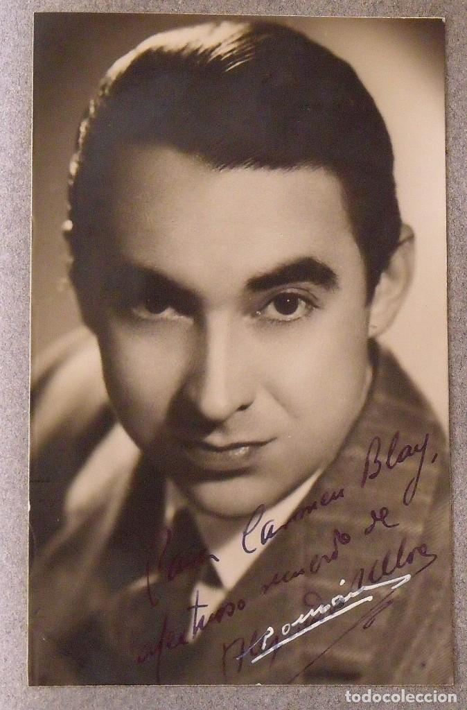 Cine: Álbum autógrafos estrellas Hollywood años 40. Johnny Weissmüller, Glen Ford, Bing Crosby, etc. - Foto 29 - 189938211