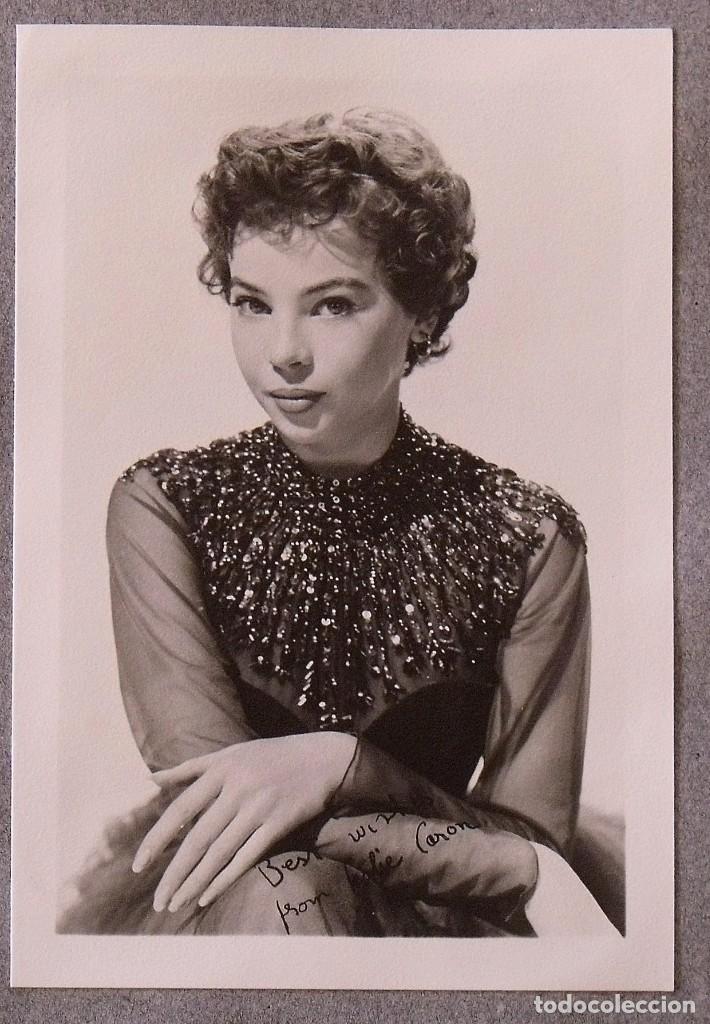 Cine: Álbum autógrafos estrellas Hollywood años 40. Johnny Weissmüller, Glen Ford, Bing Crosby, etc. - Foto 33 - 189938211