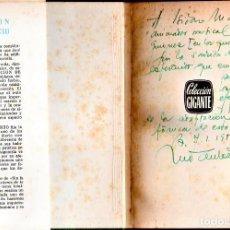 Cine: CINE ESPAÑOL,LIBRO CON DEDICATORIA Y AUTOGRAFO DEL DIRECTOR Y GUIONISTA JOSE ANTONIO DE LA LOMA,1952. Lote 190016723