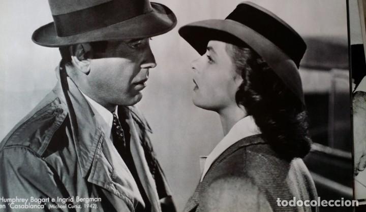 Cine: Joseph L. Mankiewicz, AUTOGRAFO enmarcado con lámina / 36 laminas Historia del Cine, 1984 - Foto 28 - 190339346