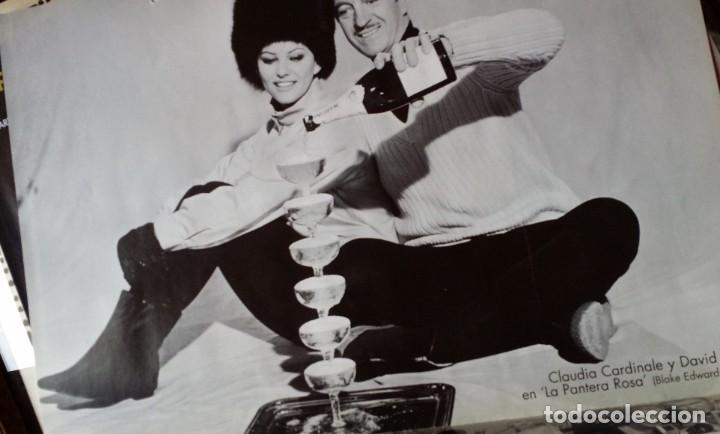 Cine: Joseph L. Mankiewicz, AUTOGRAFO enmarcado con lámina / 36 laminas Historia del Cine, 1984 - Foto 35 - 190339346