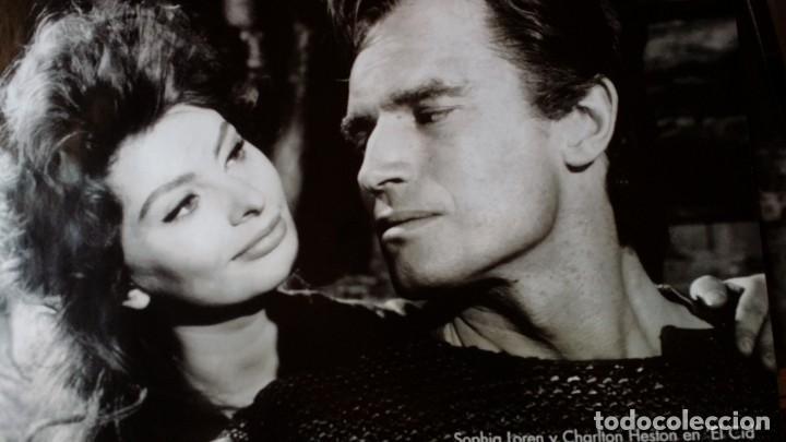 Cine: Joseph L. Mankiewicz, AUTOGRAFO enmarcado con lámina / 36 laminas Historia del Cine, 1984 - Foto 37 - 190339346