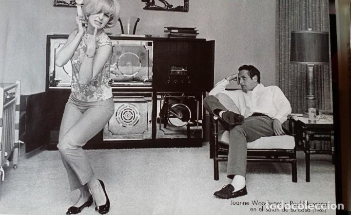 Cine: Joseph L. Mankiewicz, AUTOGRAFO enmarcado con lámina / 36 laminas Historia del Cine, 1984 - Foto 9 - 190339346