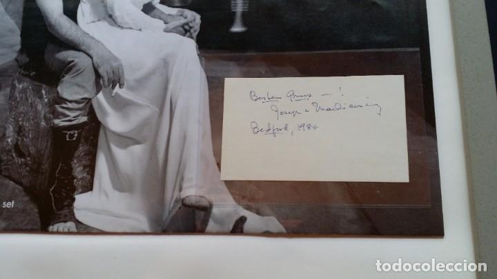 Cine: Joseph L. Mankiewicz, AUTOGRAFO enmarcado con lámina / 36 laminas Historia del Cine, 1984 - Foto 39 - 190339346